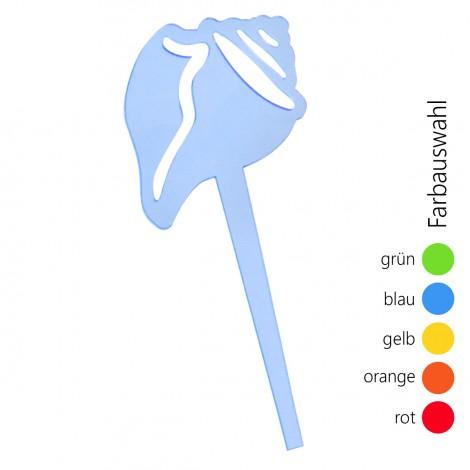 SUNPLAY Blumenstecker Muschel - Farbe wählbar