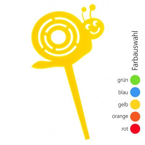 SUNPLAY Blumenstecker Schnecke - Farbe wählbar