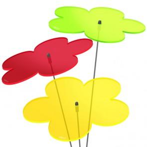 Sunplay Blumen Farbmix rot gelb grün