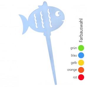 SUNPLAY Blumenstecker Fisch - Farbe wählbar