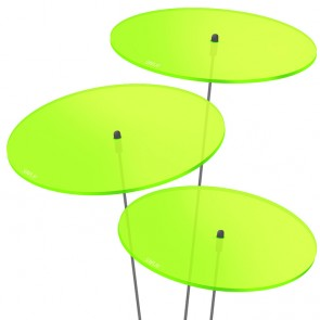 SUNPLAY SUNPLAY Scheiben 3 x Ø 20 cm | grün