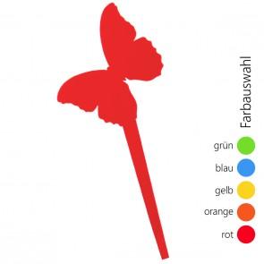 SUNPLAY Blumenstecker Schmetterling - Farbe wählbar