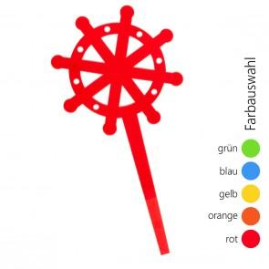 SUNPLAY Blumenstecker Steuerrad - Farbe wählbar