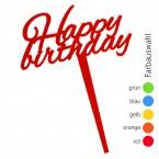 SUNPLAY Blumenstecker Happy Birthday - Farbe wählbar