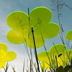 Blumen 3x 20cm Gelb